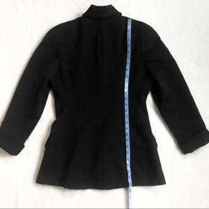 Vintage Jackets & Coats - Flawless 1960s Bergdorf Goodman 100% Wool Blazer
